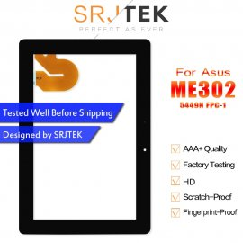 Touch Screen for ASUS MeMO FHD 10 ME301 ME302 ME302C ME302KL K005 K00A Tablet, Digitizer 5449N FPC-1