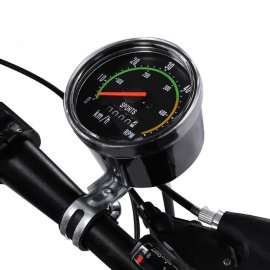 Retro mechanical tachometer for bicycles 26 / 27.5 / 28/29 inches