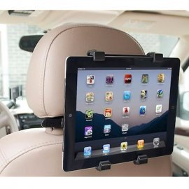 "Car holder for 10 ""GPS tablets, MP5, iPads etc. / headrest mounting"
