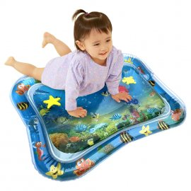 Hot! 18 Designs Baby Kids Water Play Mat Inflatable Infant Tummy Time Playmat Toddler for Baby Fun Activity Play Center