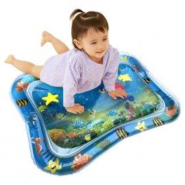 Překrásná nafukovací hrací podložka plněná vodou s rybičkami pro děti od 3 měsíců /Poštovné ZDARMA!