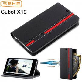 Case for Cubot X19 X 19, flip, stand, wallet, PU leather