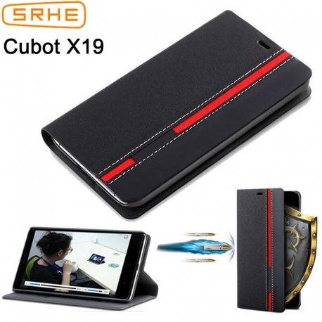 Pouzdro pro Cubot X18 Cubot X18 Plus, flip, stojánek, peněženka, PU kůže