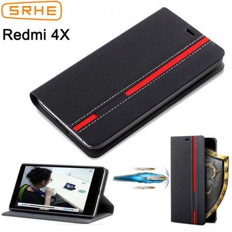 Pouzdro pro Xiaomi Redmi 4X Xiaomi Redmi 4X Pro, peněženka, stojánek,