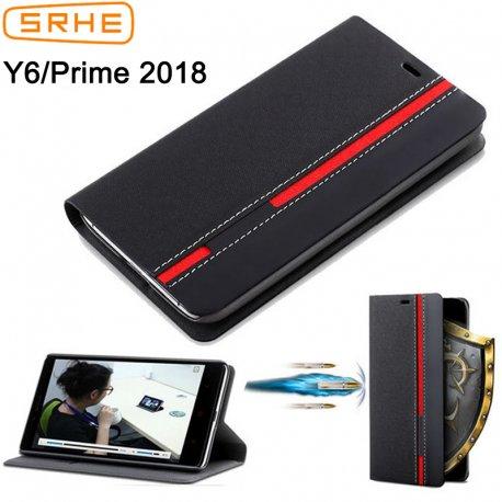 Pouzdro pro Huawei Y6 2018 Huawei Y6 Prime 2018, flip, stojánek, peněženka
