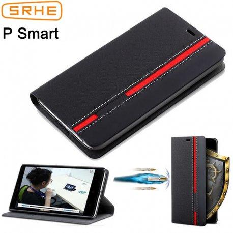 Pouzdro pro Huawei P Smart, flip, stojánek, peněženka