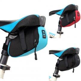 Vodeodolné púzdro pod sedadlo bicykla, nylon
