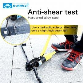INBIKE Anti Hydraulic zámek proti přestřižení, odolá tlaku až 12 tun