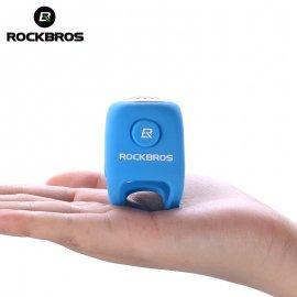 Rockbros Hlasitá siréna na jízdní kolo, voděodolný elektronický zvonek, 110db