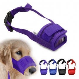 Adjustable muzzle for dogs