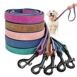 Kvalitní kožené vodítko pro psy 120cm