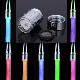 LED automatické světlo na vodovodní baterii, 7 barev /poštovné ZDARMA!
