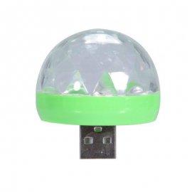 Mini USB Disco koule LED disco světlo /poštovné ZDARMA!