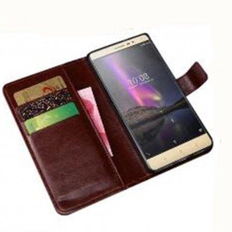 Pouzdro pro Prestigio Muze C3 PSP3504DUO, flip, magnet, peněženka, PU kůže