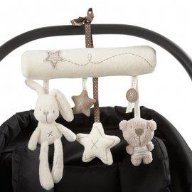 Úžasná plyšová hračka pro miminka k zavěšení na kočárek, autosedačku atd. /Poštovné ZDARMA!