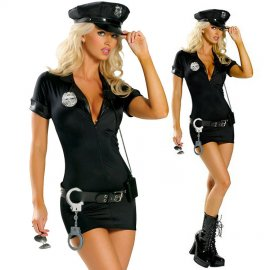 Sexy kostým policajtka / kostým policajtka / sexy policajná uniforma / Poštovné ZADARMO!