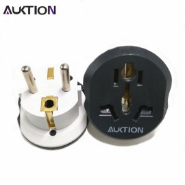 Universal Adapter AU US UK to EU Plug 220V 16A / Plug for CZ, SK