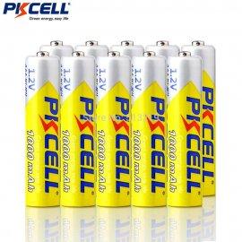 10x nabíjacie batérie AAA 1.2V 1.2V NIMH 1000mAh (10ks v balení)