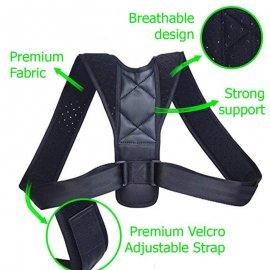 Korektor pro správné držení těla YOSYO, pro rovná záda, univerzální velikost /poštovné ZDARMA!
