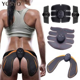 Amazing set of muscle stimulators for weight loss fitness relaxing massage EMS Muscle stimulator, 6 modes 10 intensities