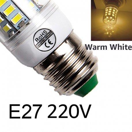 LED žárovka E14 E27 24 36 48 56 69 72LED /Poštovné ZDARMA!