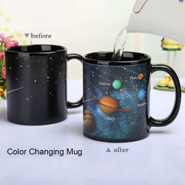 Beautiful Changing Mug - Solar System Planets