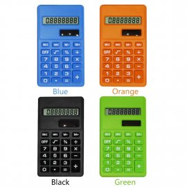Cartoon Mini Solar Calculator