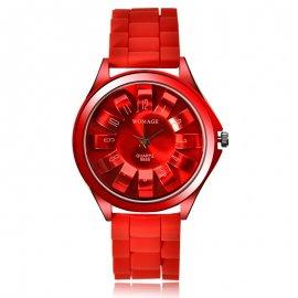 Dámské hodinky WoMaGe 9665 ve tvaru Chryzantény /Poštovné ZDARMA!