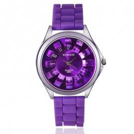 Dámske hodinky WoMaGe 9665 v tvare Chryzantény