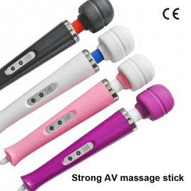 Masážní hůlka Magic Wand, 10 rychlostí, stimulace krku, zad, bodu G, klitorisu atd. /Poštovné ZDARMA!
