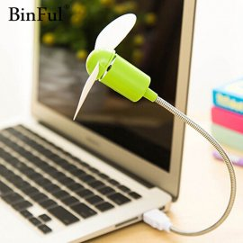BinFul Mini USB Fan for PC, NTB, PowerBank, USB Charger and Other Devices