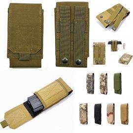 Taktické puzdro pre DOOGEE Y8 Plus Y8C N10 S60 S40 S90 Pre BL5500 S55 Lite BL9000 S50 S30 T5 uchytenie na opasok