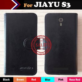 Case for JIAYU S3 JIAYU S3 PLUS, flip, stand, PU leather