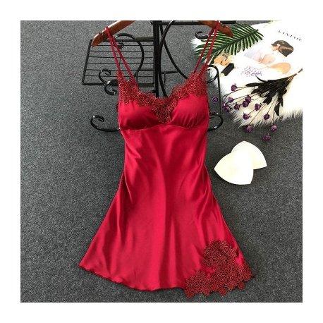 Luxusní hedvábná noční košilka (9 variant) /Poštovné ZDARMA!