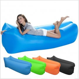Amazing waterproof quick inflating sleeping bag, sofa, deckchair, air bag