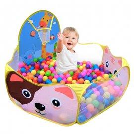 Hrací aréna pro děti s basketbalovým košem /Poštovné ZDARMA!