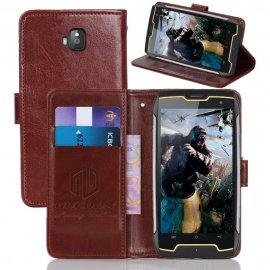 Pouzdro pro Cubot King Kong Cubot J5 Cubot J7 Cubot X19, flip, stojánek, peněženka, magnet, PU kůže /Poštovné ZDARMA!
