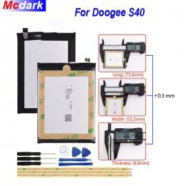 Baterie pro Doogee S40 4650mAh, original + nástroje /Poštovné ZDARMA!