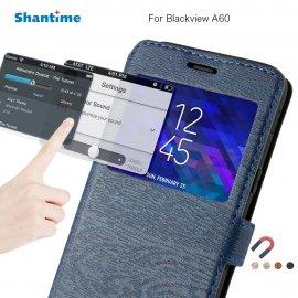 Pouzdro pro Blackview A60, flip, peněženka, stojánek, magnet, okénko, PU kůže /Poštovné ZDARMA!