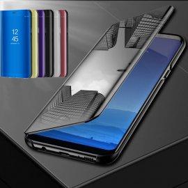 Zrcadlové flipové pouzdro pro Xiaomi Mi 8 SE A1 A2 Lite MIX2 Redmi 6A Note 6 Pro 5 Plus 5A Prime Note 4X 4 Global S2 Poco F1