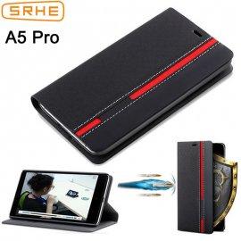 Case for UMIDIGI A5 PRO, flip, wallet, stand, magnet, PU leather