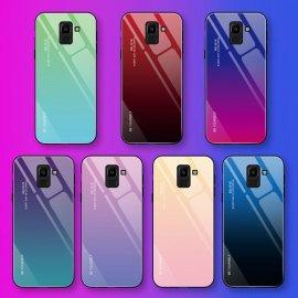 Nádherné pouzdro pro Samsung Galaxy A50 A70 S8 S9 S10 Plus Note 9 8 S10e A 30 40 20 A20e 10 A7 2018, gradient Tvrzené sklo