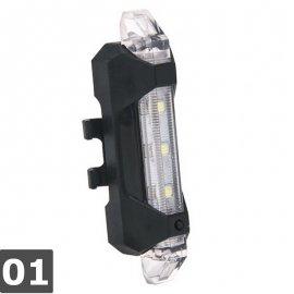 Blikačka na jízdní kolo, USB nabíjení, LED, 4 módy, voděodolná /Poštovné ZDARMA!