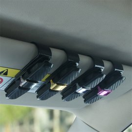 High quality car goggle holder for sun visor - clip