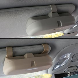 Car Glasses Holder for Sun Shade - Clip