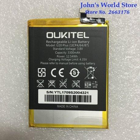Battery for Oukitel U20 Plus 3300mAh, Original