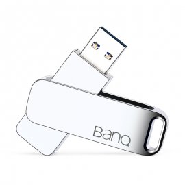 Beautiful Metal Flash Disk BanQ MAX 256GB 128GB 64GB 32G 16GB USB 3.0 / FREE SHIPPING!