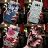 3D květiny Embosované pouzdro pro Samsung Galaxy J7 J3 J5 A5 J4 J6 A6 Plus A70 A7 2018 2016 2017 S7 S8 S9 S10 Plus A50 A30 A40