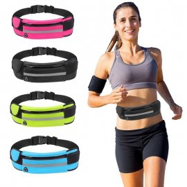 Outdoor Running Waist Bag Waterproof Mobile Phone Holder Belt Belly Bag Women Gym Fitness Bag Lady Sport Accessories Phone Case