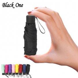 180g mini kapesní skládací deštník - cestovní - výběr ze 7mi barev - 87cm /Poštovné ZDARMA!